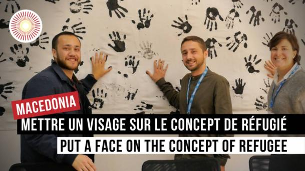 Europe Convergence — Interview | UNHCR : Mettre un visage sur le concept de réfugié / Put a face on the concept of refugee | NORTH MACEDONIA