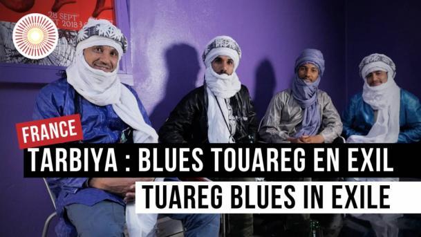 Europe Convergence — Interview   Tarbiya : blues touareg en exil / tuareg blues in exile   FRANCE