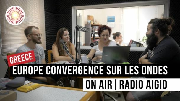 Europe Convergence sur les ondes / On air Radio Aigio   GREECE