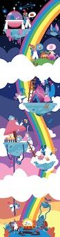 rainbow's treasure hunt